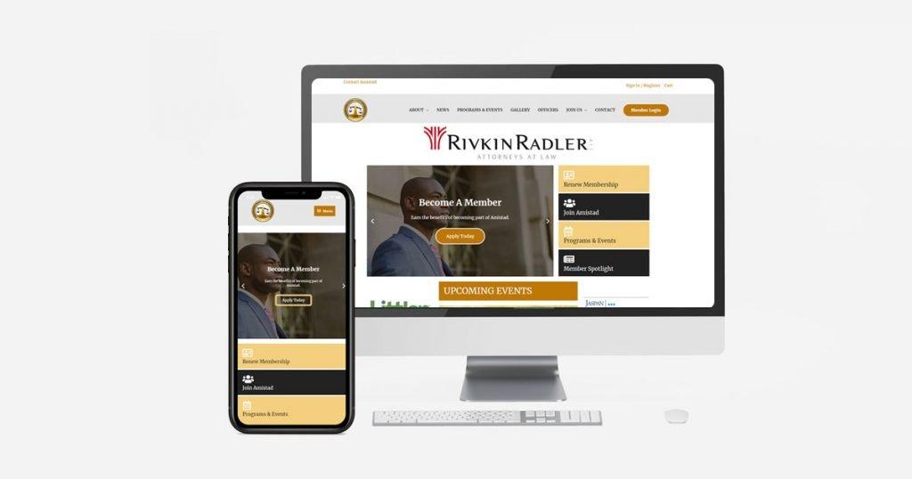 How We Helped Amistad Long Island Black Bar Association Revamp Their Site