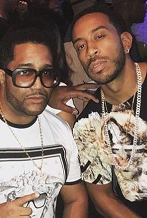 ludacris in michael cherry brand streetwear clothing