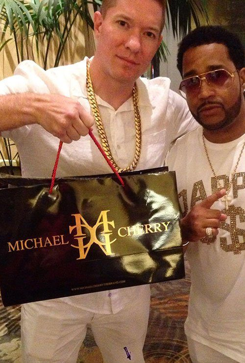 tommy from power starz in michael cherry brand streetwear clothing