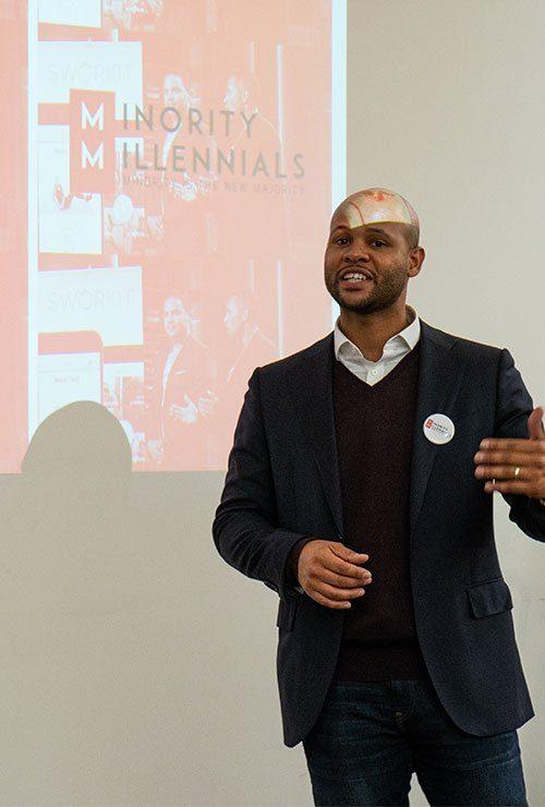 case study minority millennial daniel lloyd godson michel by blue surge marketing agency